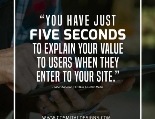 You Have Just Five Seconds…